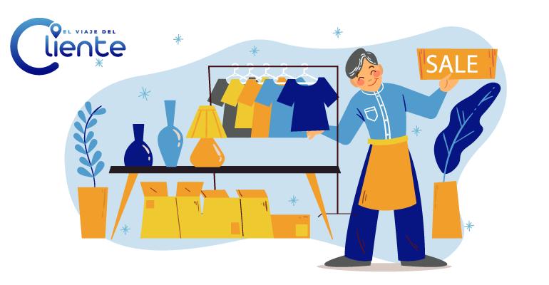 ¿Tiene el comercio minorista mejor servicio al cliente?