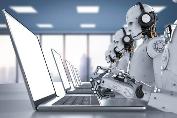 Call center con chatbots e inteligencia artificial AI