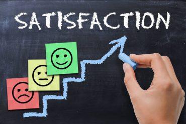 Escala de niveles de satisfacción