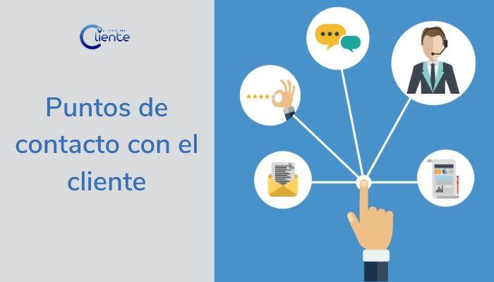 Los puntos de contacto con el cliente como clave del customer journey
