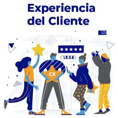 clientes percibiendo la experiencia de clientes y customer experience