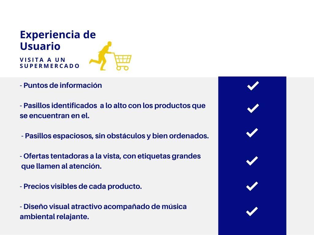 Experiencia de Usuario - Visita Supermercado