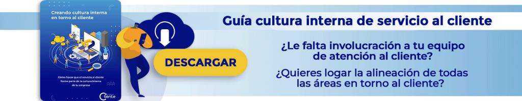 Cultura interna del servicio al cliente