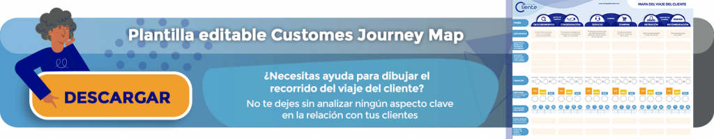 Plantilla Guía Customer Journey map